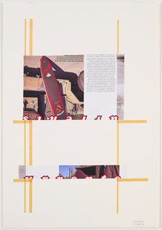 Ann Pibal | PICDIT #design #color #art #painting #collage