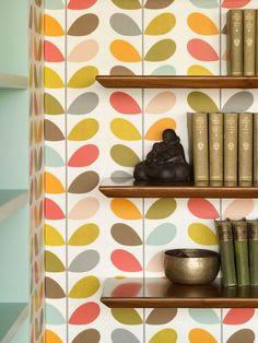 Bohemian apartment wallpaper decor #interior #painting #art #kids #apartment #room