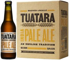 Tuatara IPA #packaging #beer #label #bottle