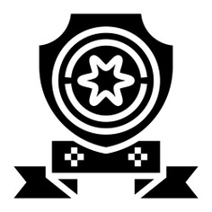 See more icon inspiration related to shield, prize, sports and competition, champion, winner, win and award on Flaticon.