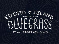 Bluegrass Logo #lettering #script #logo #hand #typography