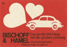 All sizes | German matchbox label | Flickr - Photo Sharing! #illustration #car