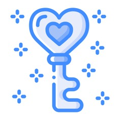See more icon inspiration related to key, love and romance, Tools and utensils, valentines day, heart shaped, romantic, heart shape, padlock and love on Flaticon.