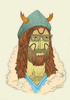 Illustrations Volume 2 on the Behance Network #illustration #viking