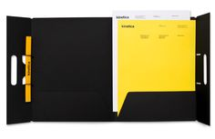 Kinetica — Design by Face. #print #letterhead #folder