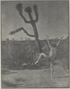 """Louis Fleckenstein """"dancing master"""" (1930)"""