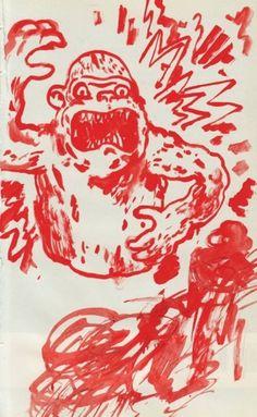 All sizes | gorilla | Flickr - Photo Sharing! #illustration