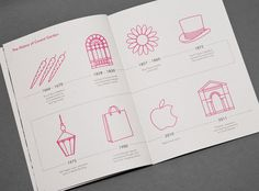 Rhubarb. Promotional Book. #a #tree #in #london #design #fish #graphic #website #3 #identity #logo #brochure