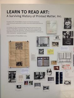 Learn to Read Art: A Surviving History of Printed Matter, Inc.