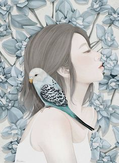 Delicate Illustrations by Choi Mi Kyung