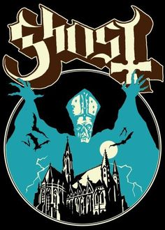 Ghost_poster.jpg (436×610) #album #ghost #apparel #artwork #record #band