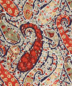 Bourton F Tana Lawn, Liberty Art Fabrics #liberty #london #of #paisley #textile