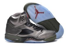 Nike Air Jordan 5 Fear Sequoia Fire Red/Medium Olive and Black New Basketball Shoes #shoes