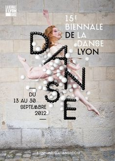 Biennale de la danse de Lyon #design #graphic #poster #typography