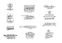 Arrow Vintage 2 on the Behance Network #arrow #type #logo