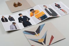 Folk Clothing by IYA Studio #print #brochure