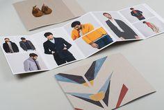 Folk Clothing by IYA Studio #print #brochure
