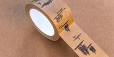 Packaging by Moodley | LLGD.net #print #packaging #tape #craft paper