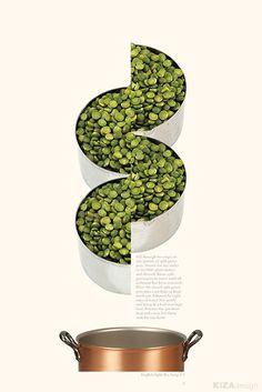 Visual Victuals – Visual Cookbook   Kiza Design