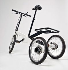 Vienna Bike by Valentin Vodev #electric #modern #transport #tricycle #minimal #bike