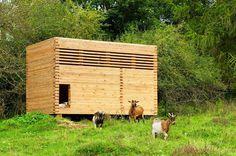 Goat Barn in Bavaria by Kühnlein Architektur #ideas #architecture