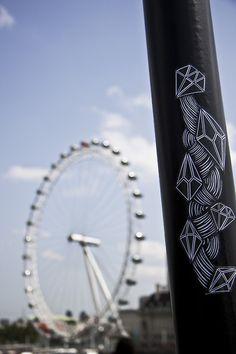 London #london #sticker #eye