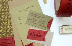 Wild Olive Â« Stitch Design Co. #letterhead #design