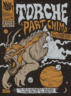 FYI Monday Brunofsky Torche Gig Poster