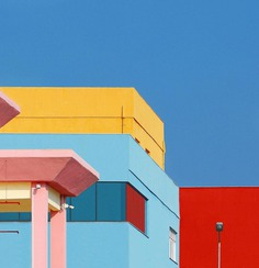 Rainbow Architecture: Geometric Abstraction of Istanbul by Yener Torun