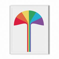 sergi delgado — rainbow #delgado #color #graphic #design #geometric #simple #minimal #poster #barcelona #sergi #rainbow