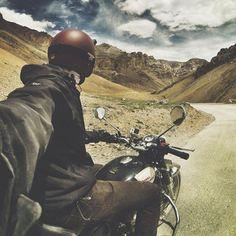 motorbike selfie