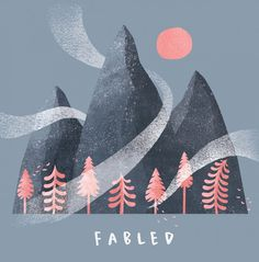 Artwork for the debut EP of Fabled, a London-based jazz band. #illustration