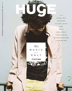Huge Magazine #magazine #cover #design #typography