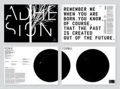 Federico Díaz / Adhesion - Štěpán Malovec - TypoDesignClub.cz #design #graphic #poster #czech #typography