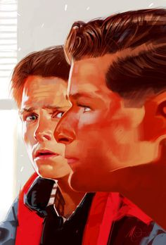 Avengers, Fight Club, Die Hard and more movie moments by Massimo Carnevale Blog GeekDraw #the #back #painting #future #to