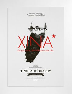 Series of posters for Tingladography, a mexican gallery & antique photography shop.