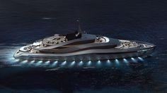 Aurea Yacht Concept by PininfarinaPininfarina unveiled in collaboration with Italian shipyard Rossinavi a 230-foot superyacht concept - Aure #aureayacht #pininfarina #luxuryes #aurea #richlife #millionaire #yacht #yachtgamestrong #goodlife