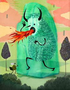 Illos on the Behance Network #design #illustration #art #monster #character