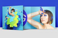 CD-cover, paper, colour, set-design