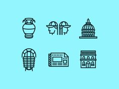Annual Report Icons by Ben Stafford #pictogram #iconography #icon #sign #glyph #iconic #picto #symbol #emblem
