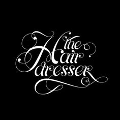The Hairdresser: sector7g | making brands visible | Graphic Design Studio Adelaide #white #design #graphic #black #handtype #and #type