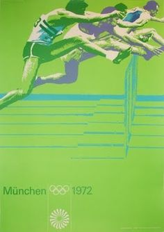 1972 Olympic flyer by Otl Aicher