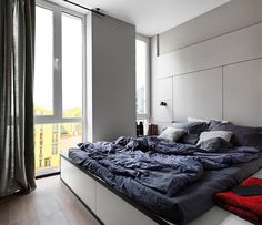 40 sqm Apartment Takes Advantage Of Color And Chic Accent Features 14