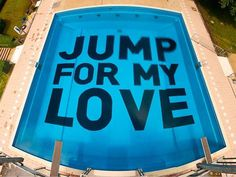 "CJWHO ™ (Fresh ""Jump for My Love"" Project in Wiesbaden by...) #wiesbaden #design #photography #architecture #art #typography"