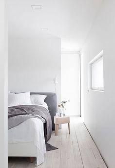 Minimal Home by Marja Wickmann via her blog Musta Ovi