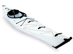 The Oru kayak - Origami folding kayak #kayak #portability