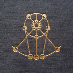 Astronomy #embossing #book #cover #linen #gold