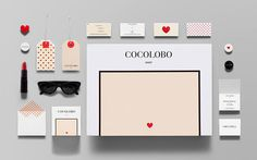 Cocolobo #playful #logotype #shop #lolita #identity #stationery