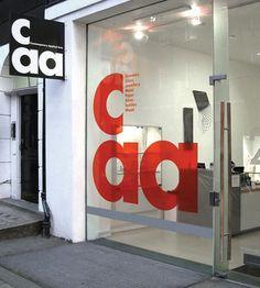 CAA | Bibliothèque Design #identity #caa #biblioteque