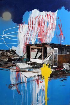 Artist painter Nicolas Kuligowski #mixed #media
